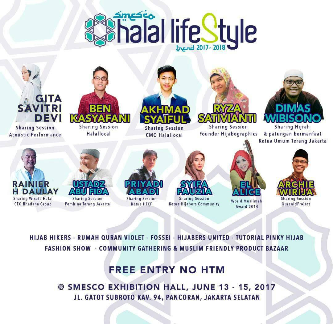 majalah halal lifestyle hadirkan smesco halallifestyle trend 2017 edupublik connecting. Black Bedroom Furniture Sets. Home Design Ideas